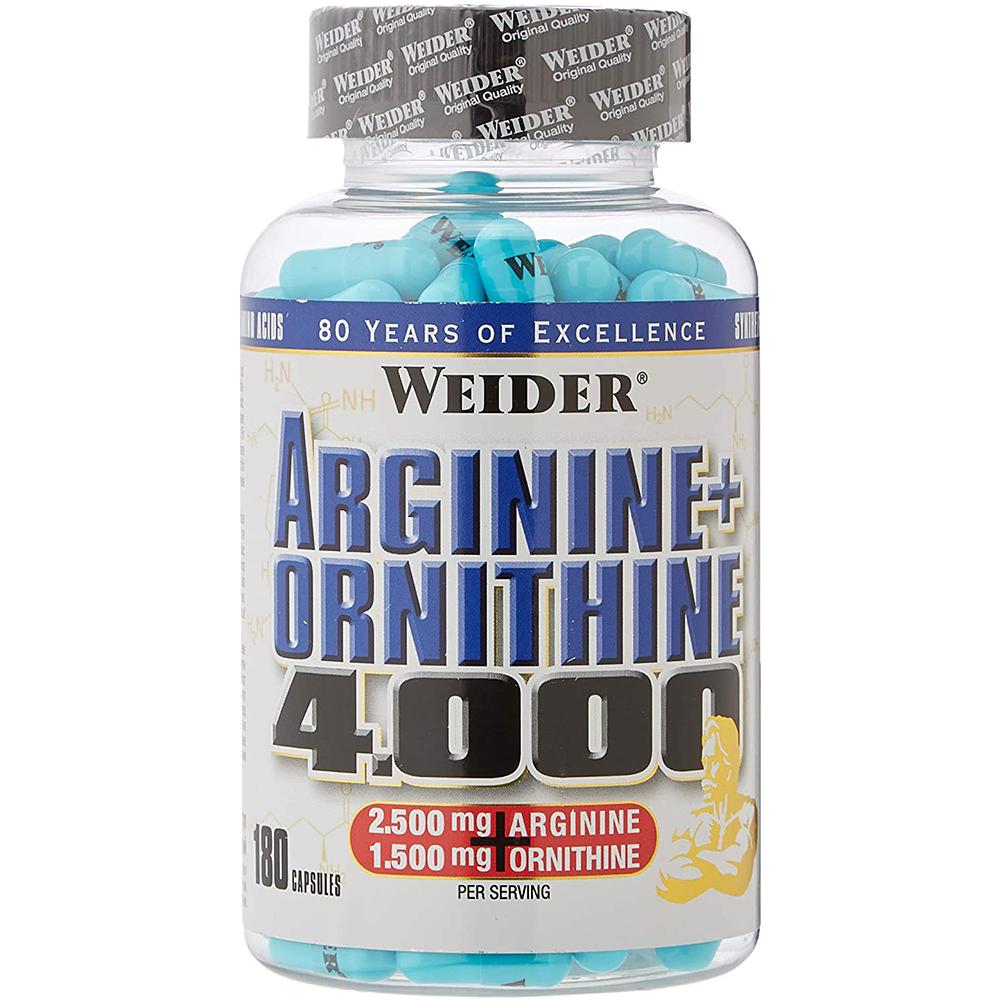 Weider Nutrition Arginine + Ortnithine 4.000 180 caps