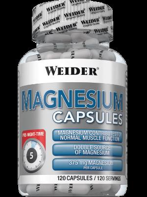 Weider Nutrition Magnesium Caps 120 caps
