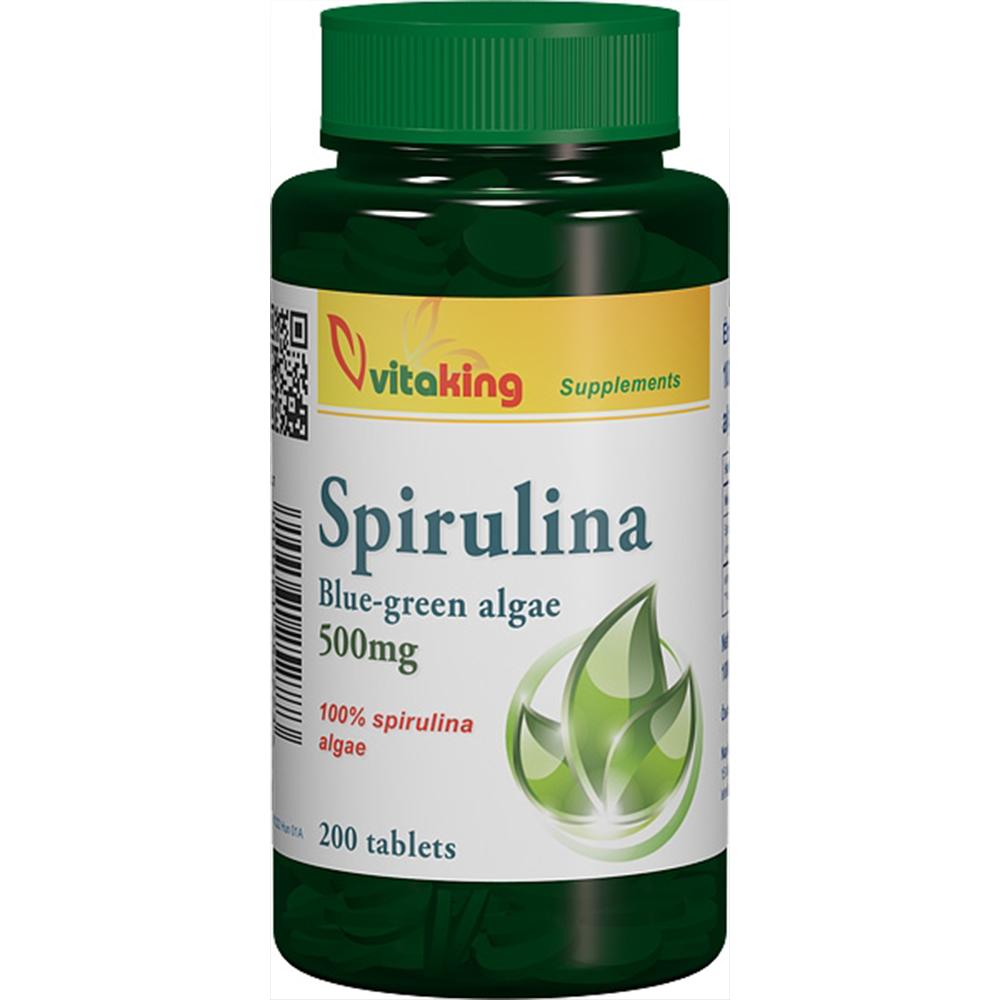 VitaKing Spirulina  200 tab.