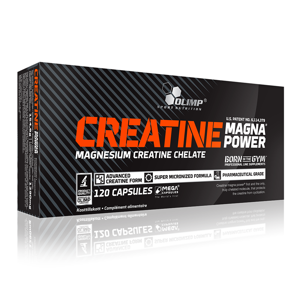 Olimp Sport Nutrition Creatine Magna Power 120 caps