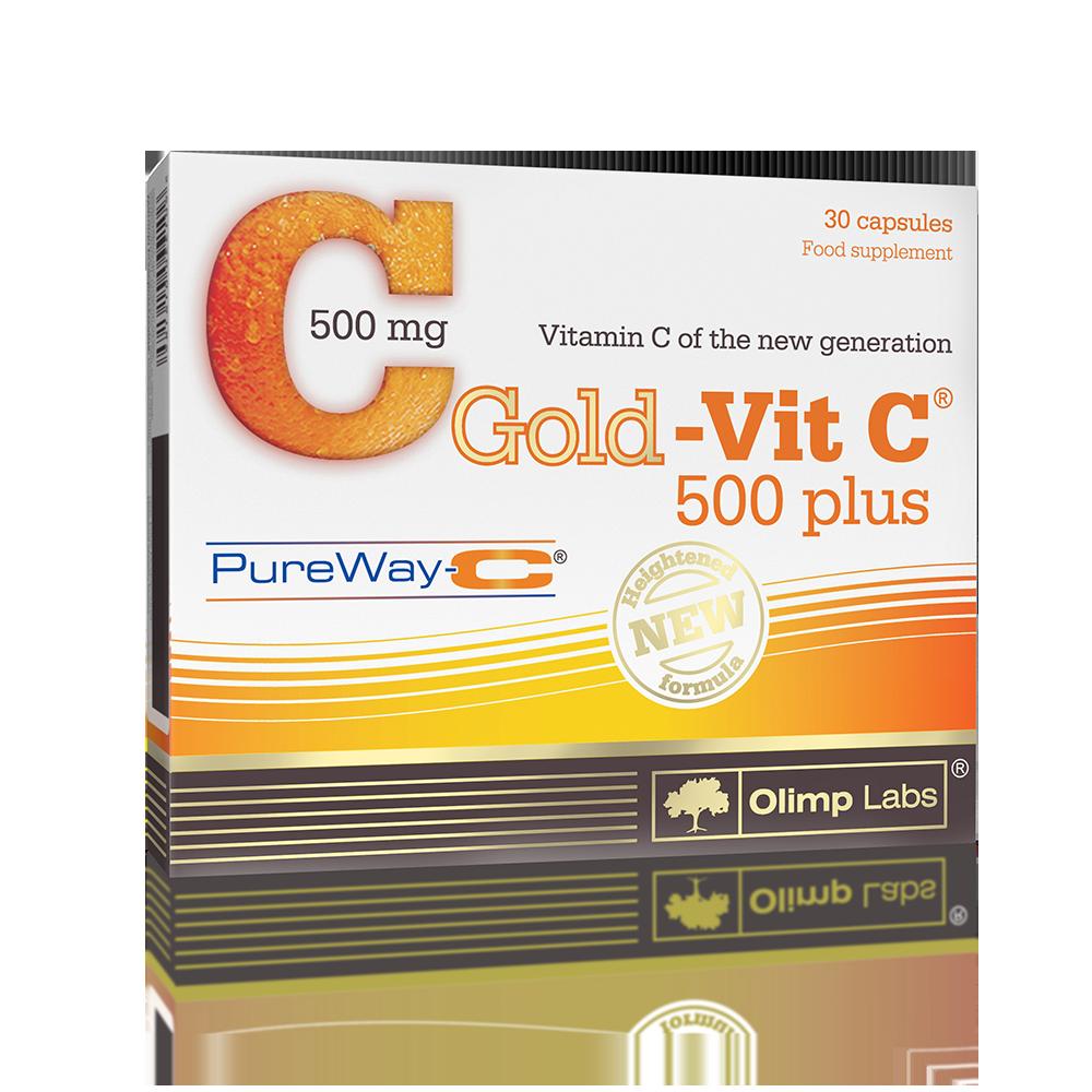 Olimp Sport Nutrition Gold-Vit C-500 Plus 30 caps