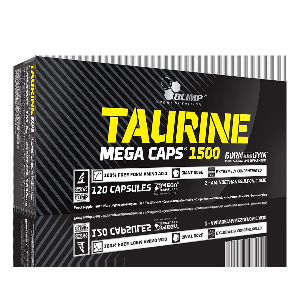 Olimp Sport Nutrition Taurine Mega Caps 120 caps