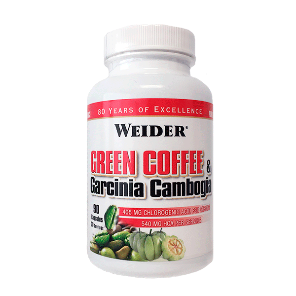 Weider Nutrition Green Coffee and Garcinia Cambogia 90 caps