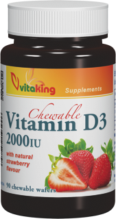 VitaKing D3 Vitamin 2000 90 chews