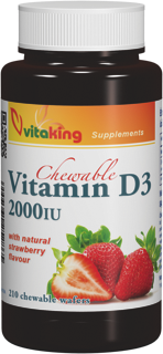 VitaKing D3 Vitamin 2000 210 chews