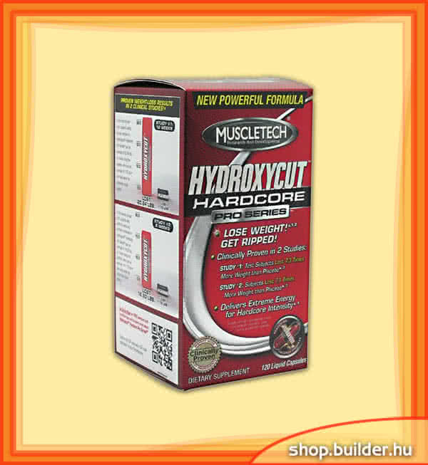 MuscleTech Hydroxycut Hardcore Pro Series 120 L.c.