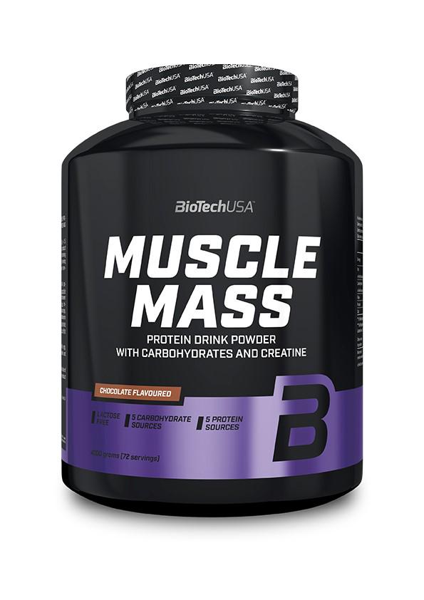 BioTech USA Muscle Mass 4 kg