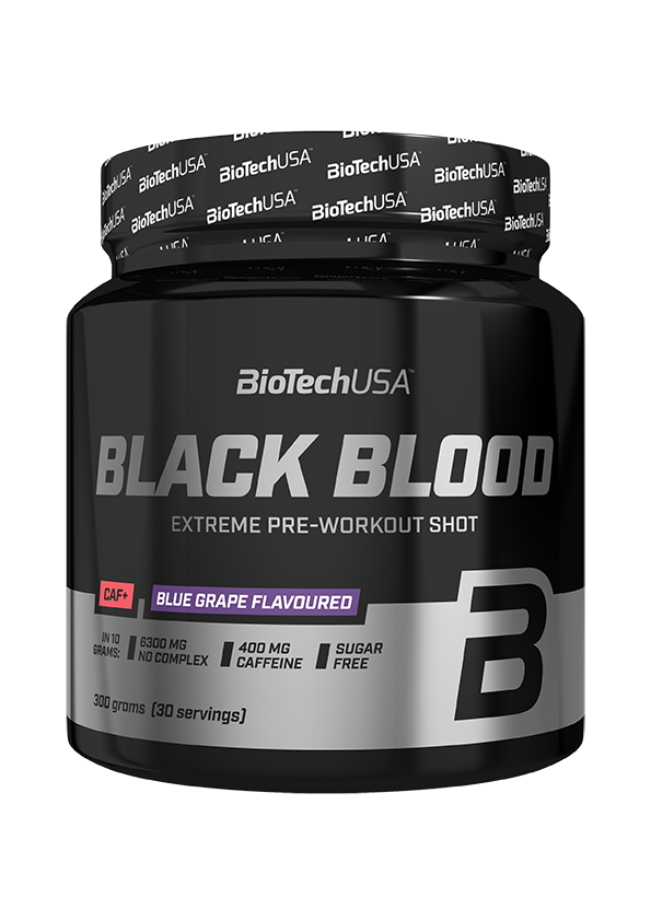 BioTech USA Black Blood CAF+ 300 gr.