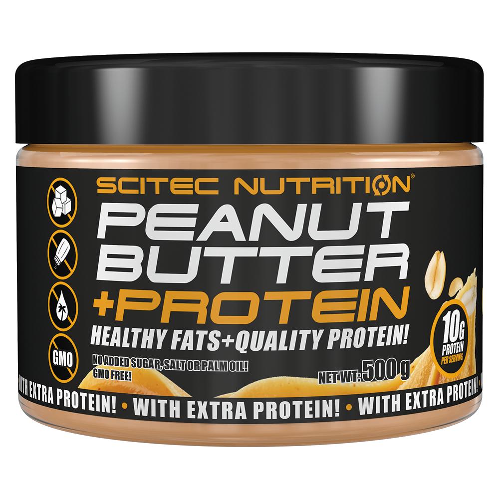 Scitec Nutrition Peanut Butter+Protein  500 gr.
