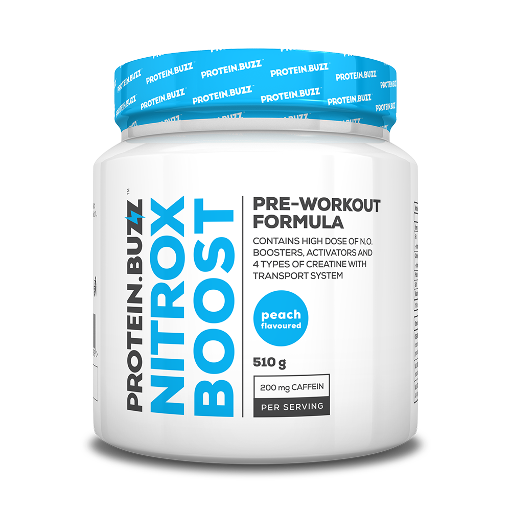 Protein Buzz Nitrox Boost 510 gr.
