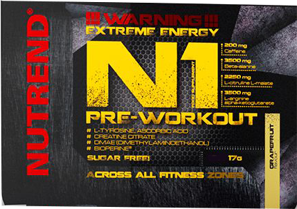 Nutrend N1 Pre-Workout Booster 17 gr.