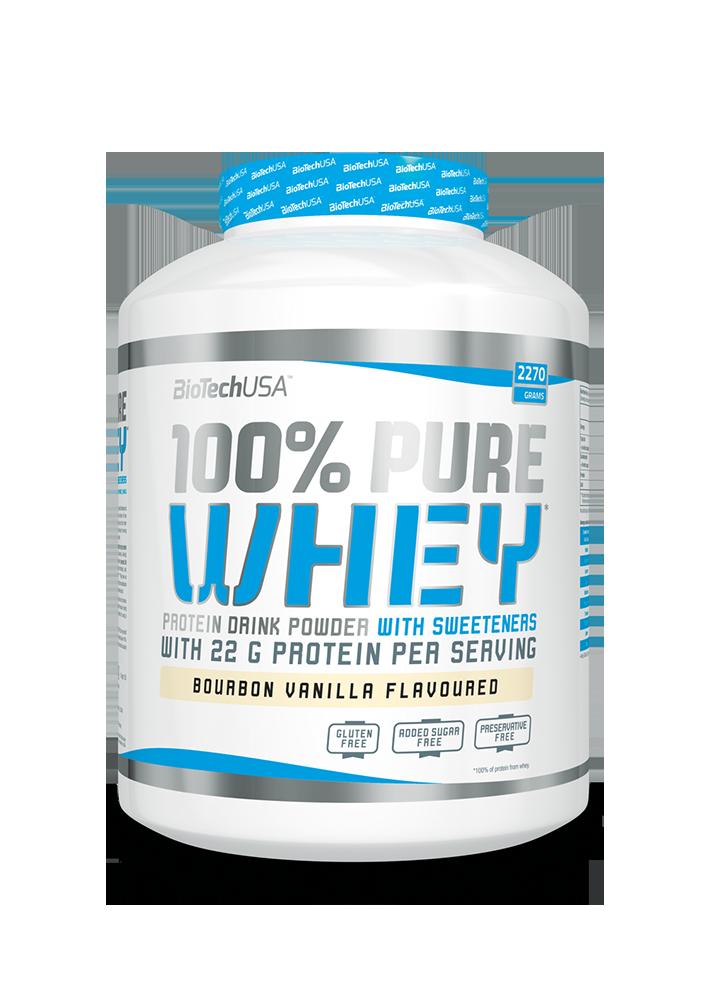 BioTech USA 100% Pure Whey 2,27 kg