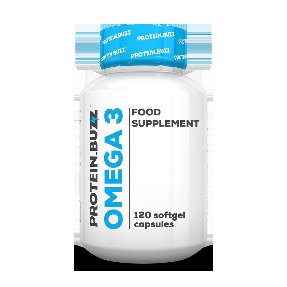 Protein Buzz Omega 3 120 caps