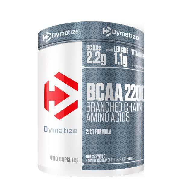 Dymatize BCAA 2:1:1 400 caps