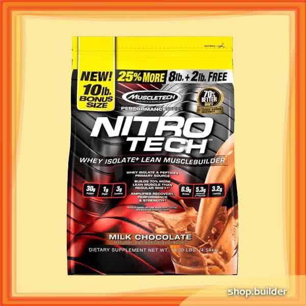 MuscleTech Nitro-Tech Performance Series 4,54 kg