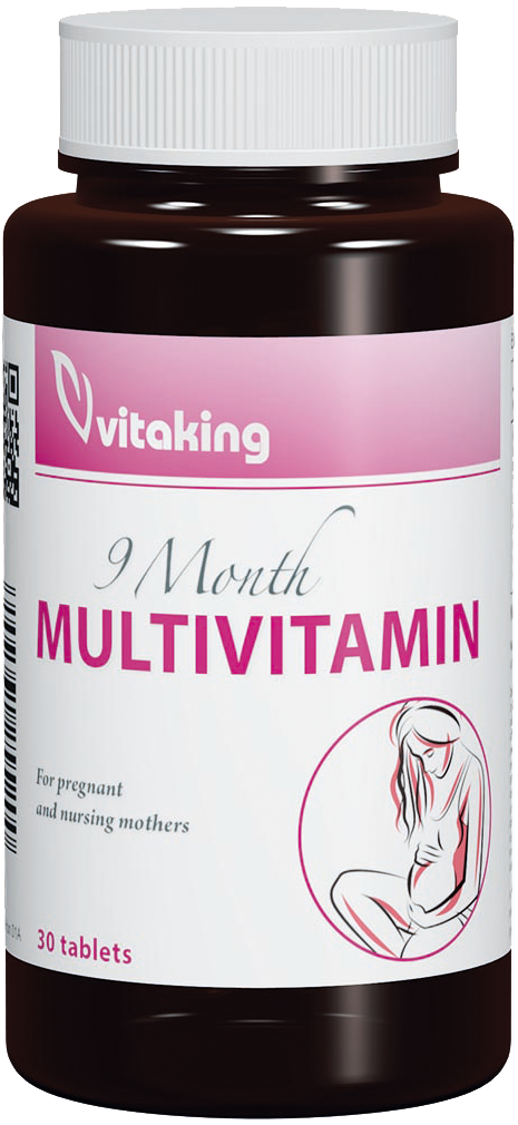 VitaKing 9 Month Multivitamin 30 tab.