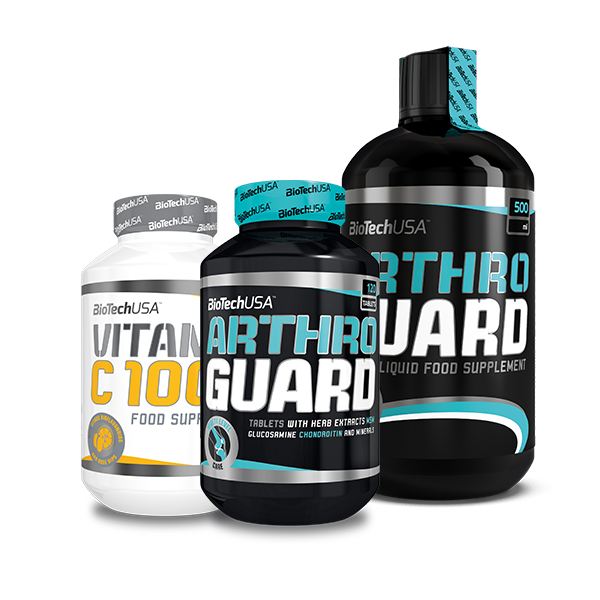 BioTech USA Arthro Guard + Liquid + Vitamin C 1000 set