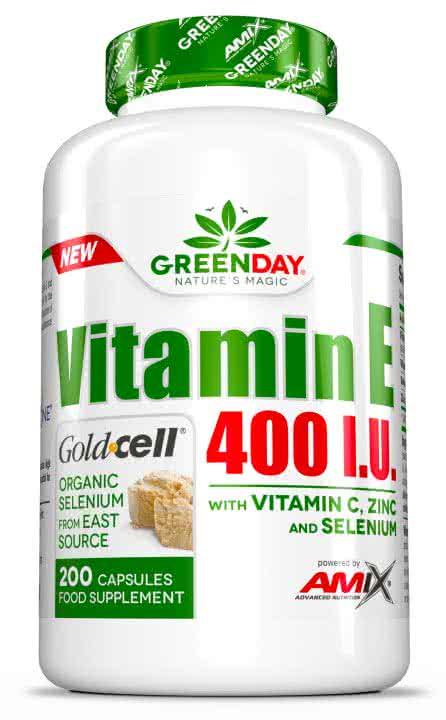 Amix GreenDay Vitamin E 400 I.U. LIFE+ 200 caps