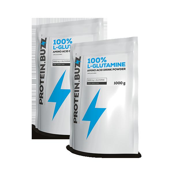 Protein Buzz 100% Glutamine 2000 gr.