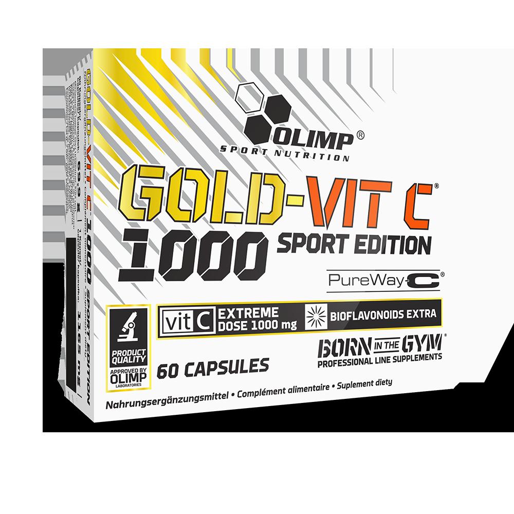 Olimp Sport Nutrition Gold-Vit C 1000 Sport Edition 60 caps