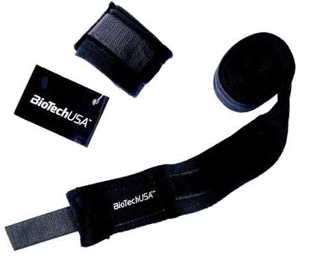BioTech USA Wrist wraps pair