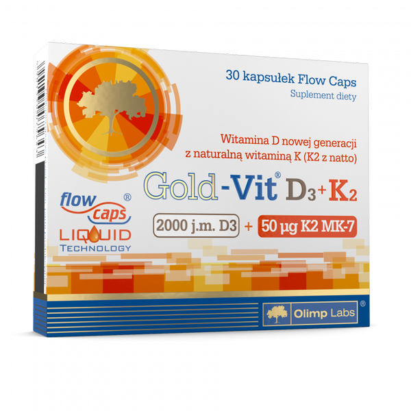 Olimp Sport Nutrition Gold-Vit D3+K2 30 caps