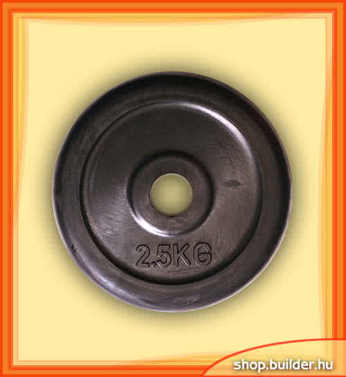 Other sports equipment Rubber plate  2,5 kg 2,5 kg
