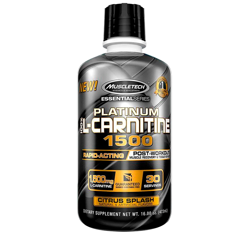 MuscleTech Platinum 100% L-Carnitine 1500 473 ml
