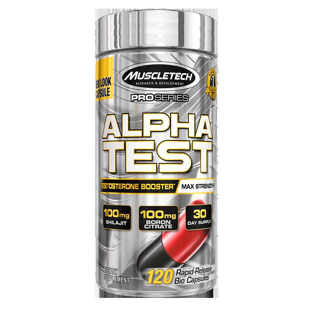 MuscleTech Pro Series Alpha Test 120 caps