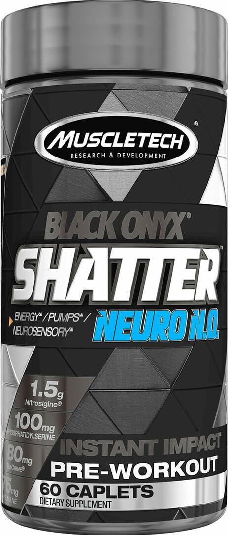 MuscleTech Shatter SX-7 Black Onyx Neuro N.O. 60 caps