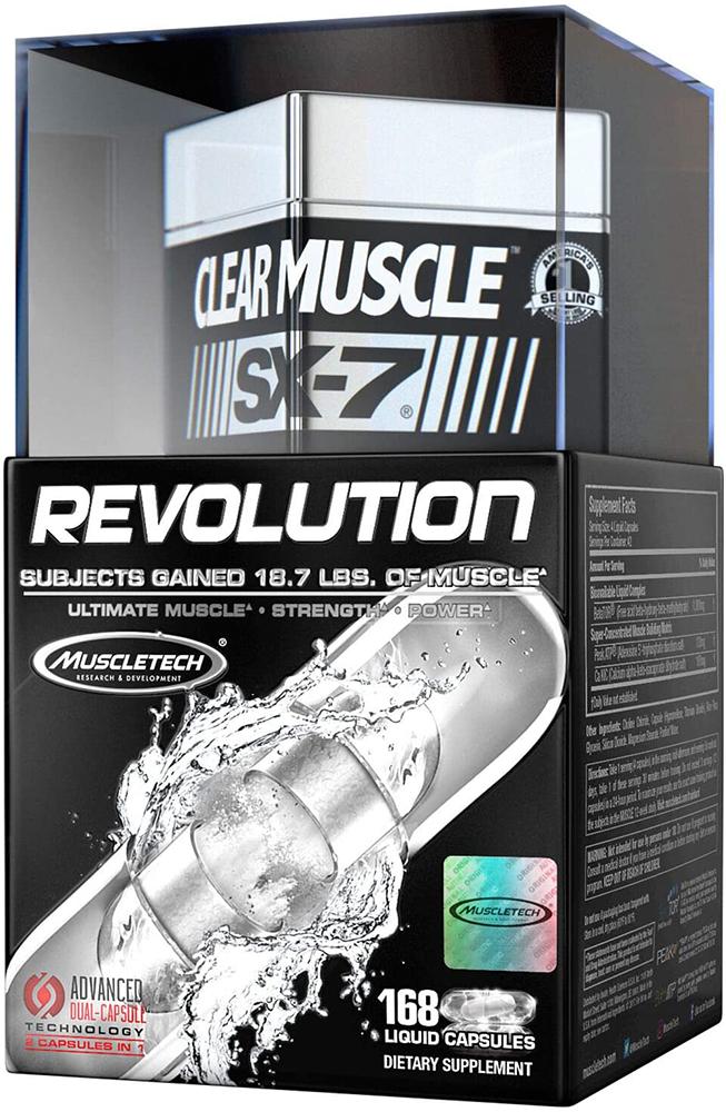 MuscleTech SX-7 Revolution Clear Muscle 168 caps