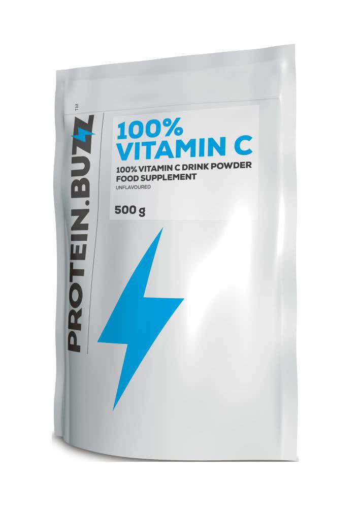 Protein Buzz Ascorbic Acid (Vitamin C) 500 gr.
