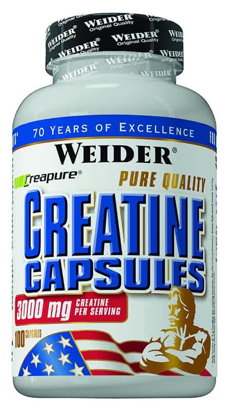 Weider Nutrition Creatine Capsules 200 caps