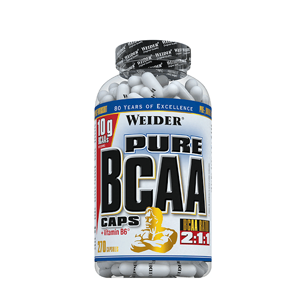Weider Nutrition Pure BCAA Caps 270 caps