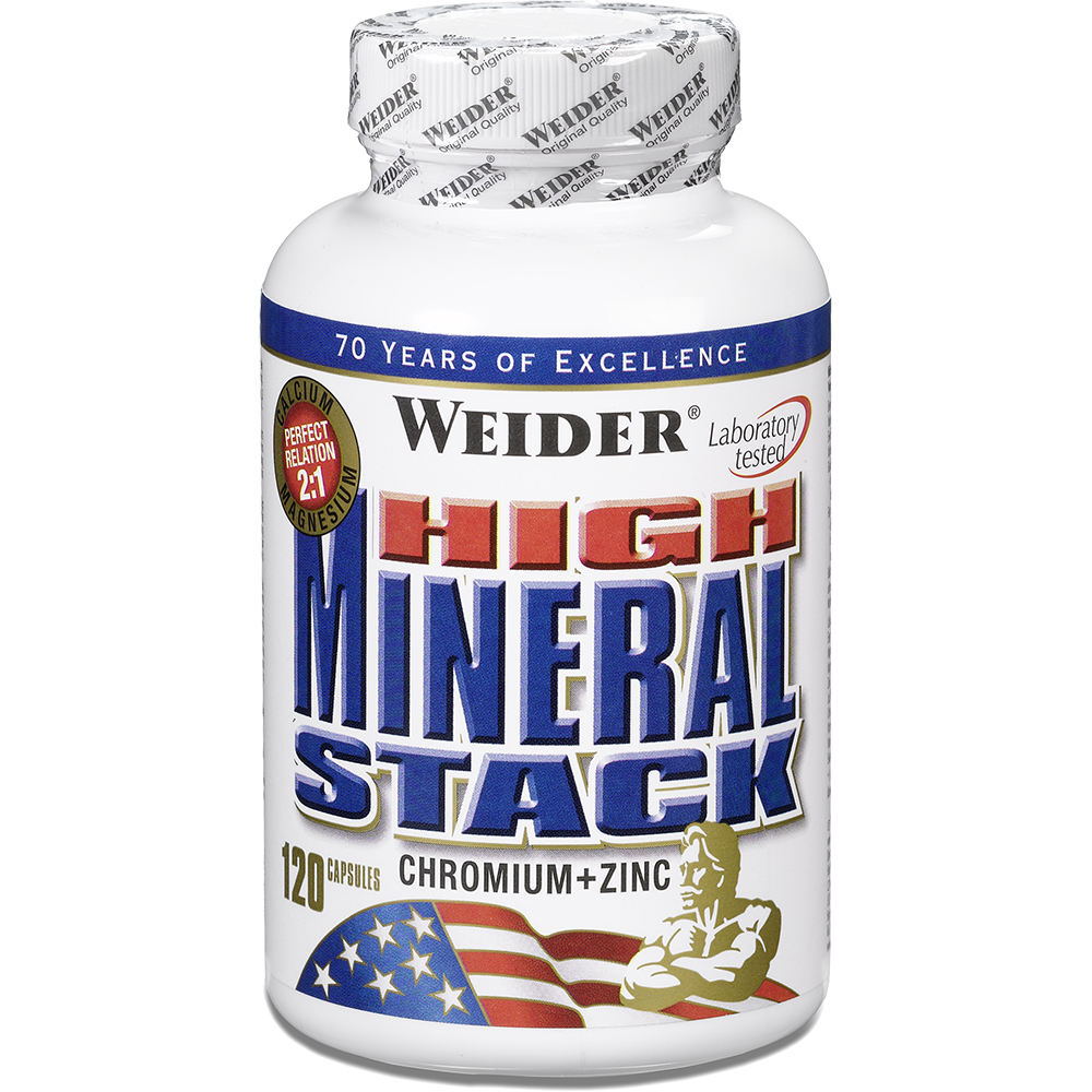 Weider Nutrition High Mineral Stack 120 caps
