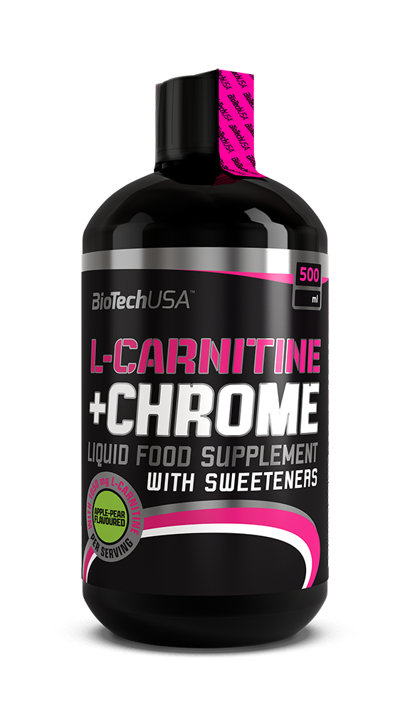 BioTech USA Liquid L-Carnitine + Chrome 0,5 lit.