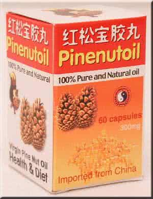 Dr. Chen Pinenut Oil Caps 60 caps
