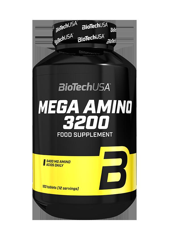 BioTech USA Mega Amino 3200 100 tab.