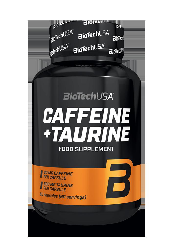 BioTech USA Caffeine + Taurine 60 caps