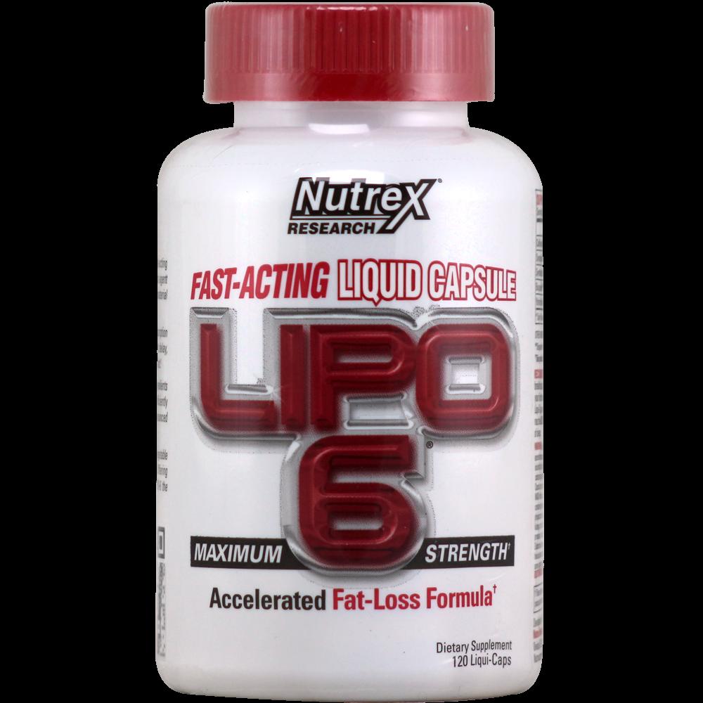 NutreX Research Lipo-6 120 g.c.