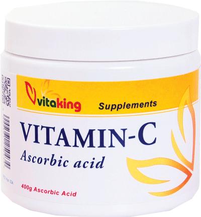 VitaKing Ascorbic Acid (Vitamin C) 400 gr.