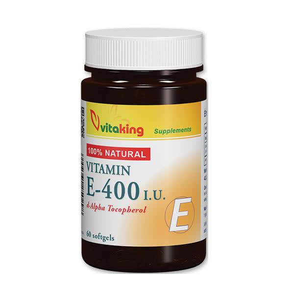 VitaKing Vitamin E-400 60 g.c.