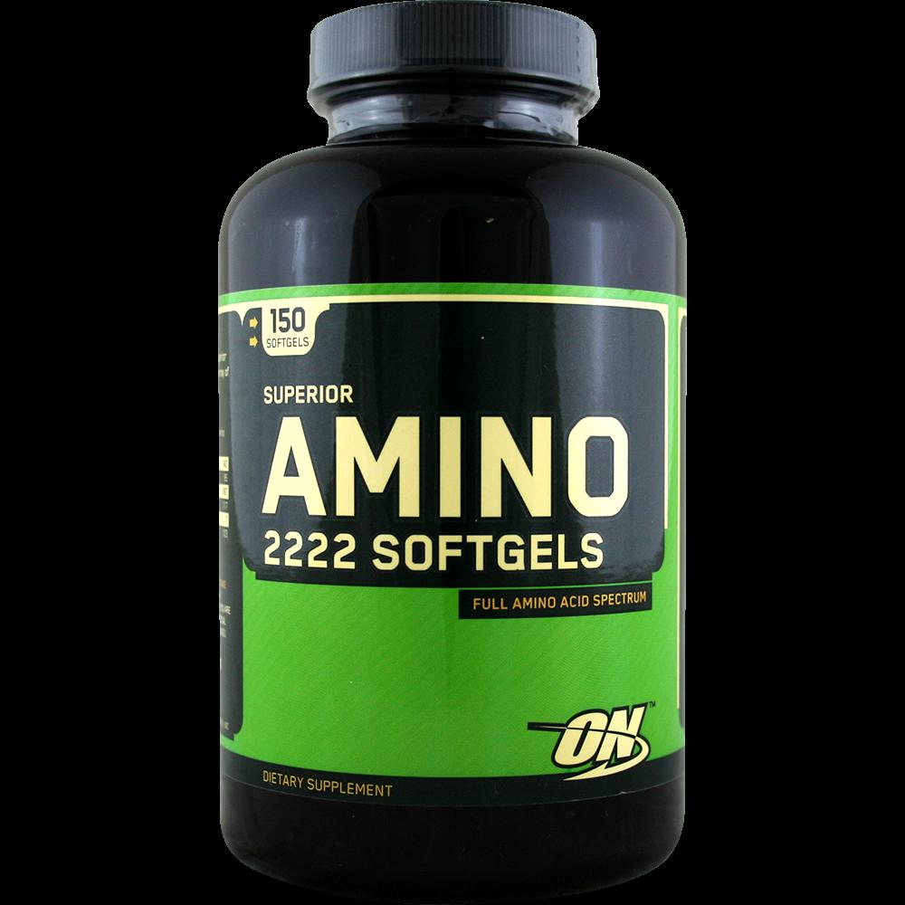 Optimum Nutrition Amino 2222 Softgels 150 g.c.