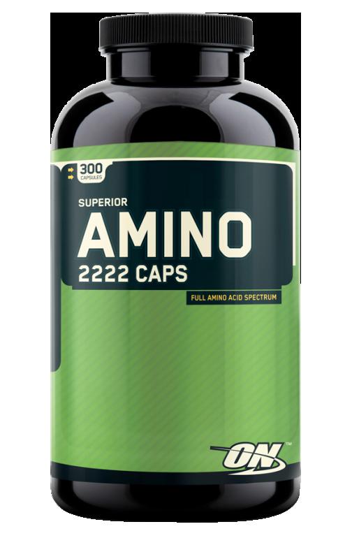 Optimum Nutrition Amino 2222 Softgels 300 g.c.