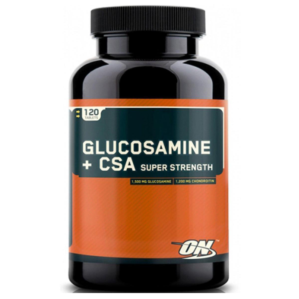 Optimum Nutrition Glucosamine + CSA Caps 120 caps