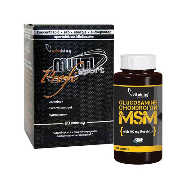 VitaKing Multi Sport Professional + Glucosamine Chondroitin MSM set