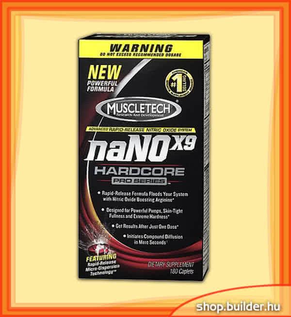 MuscleTech naNOx9 Hardcore Pro Series 180 caps