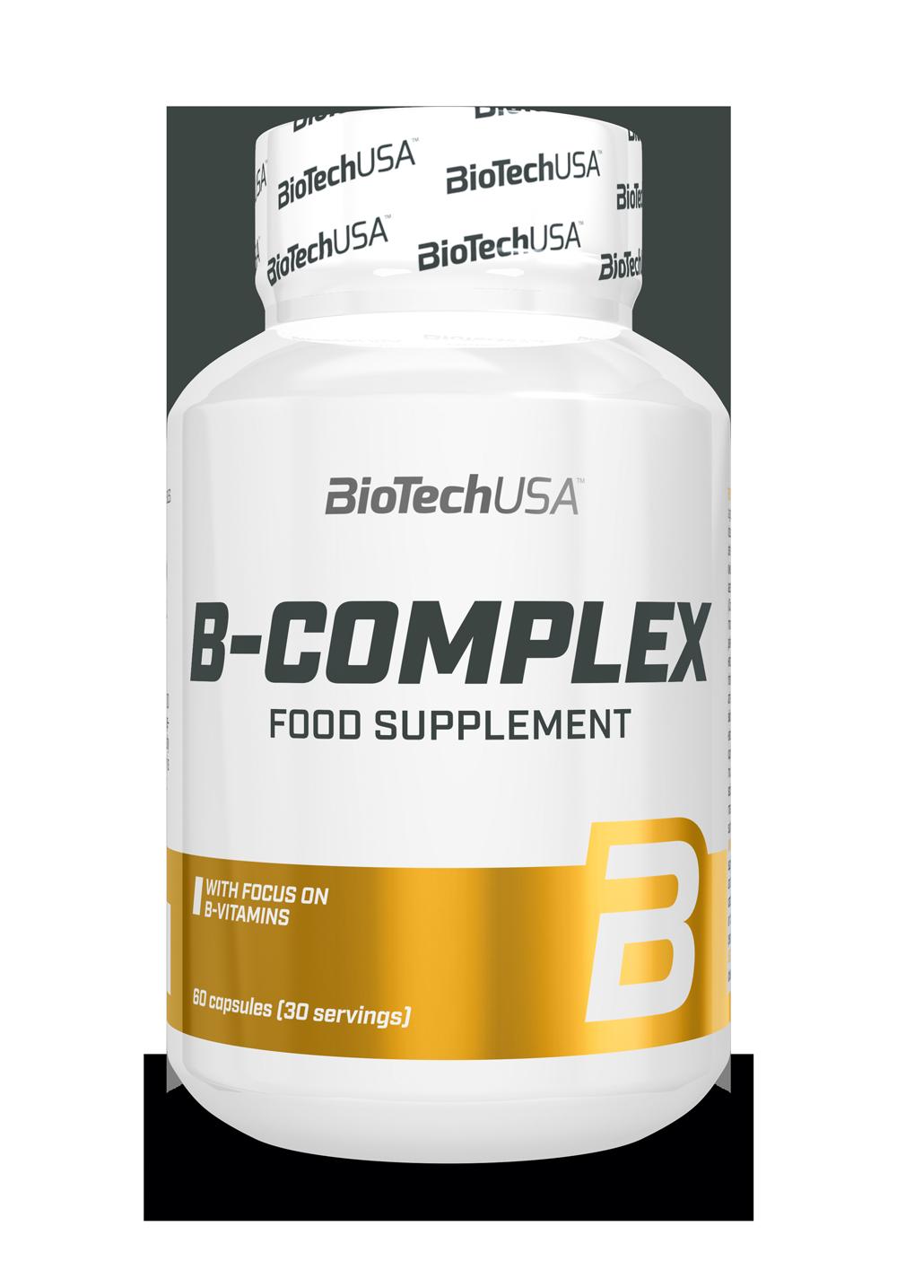 BioTech USA B-complex 60 caps