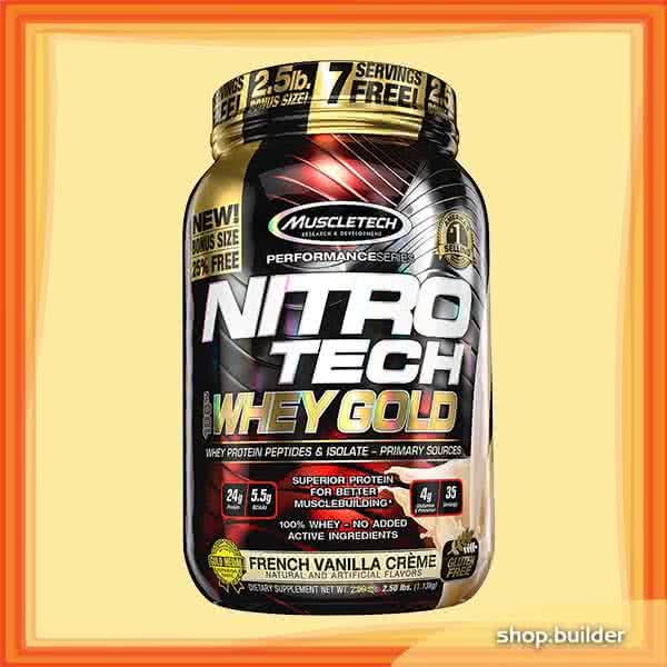 MuscleTech Nitro Tech 100% Whey Gold 0,907 kg