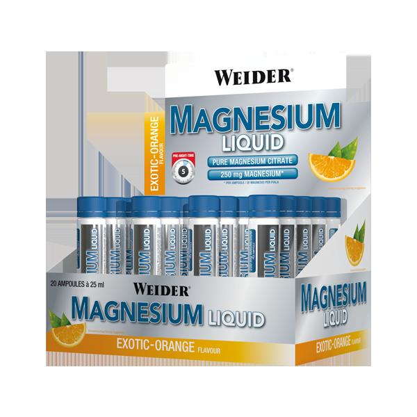 Weider Nutrition Magnesium Liquid 20x25 ml